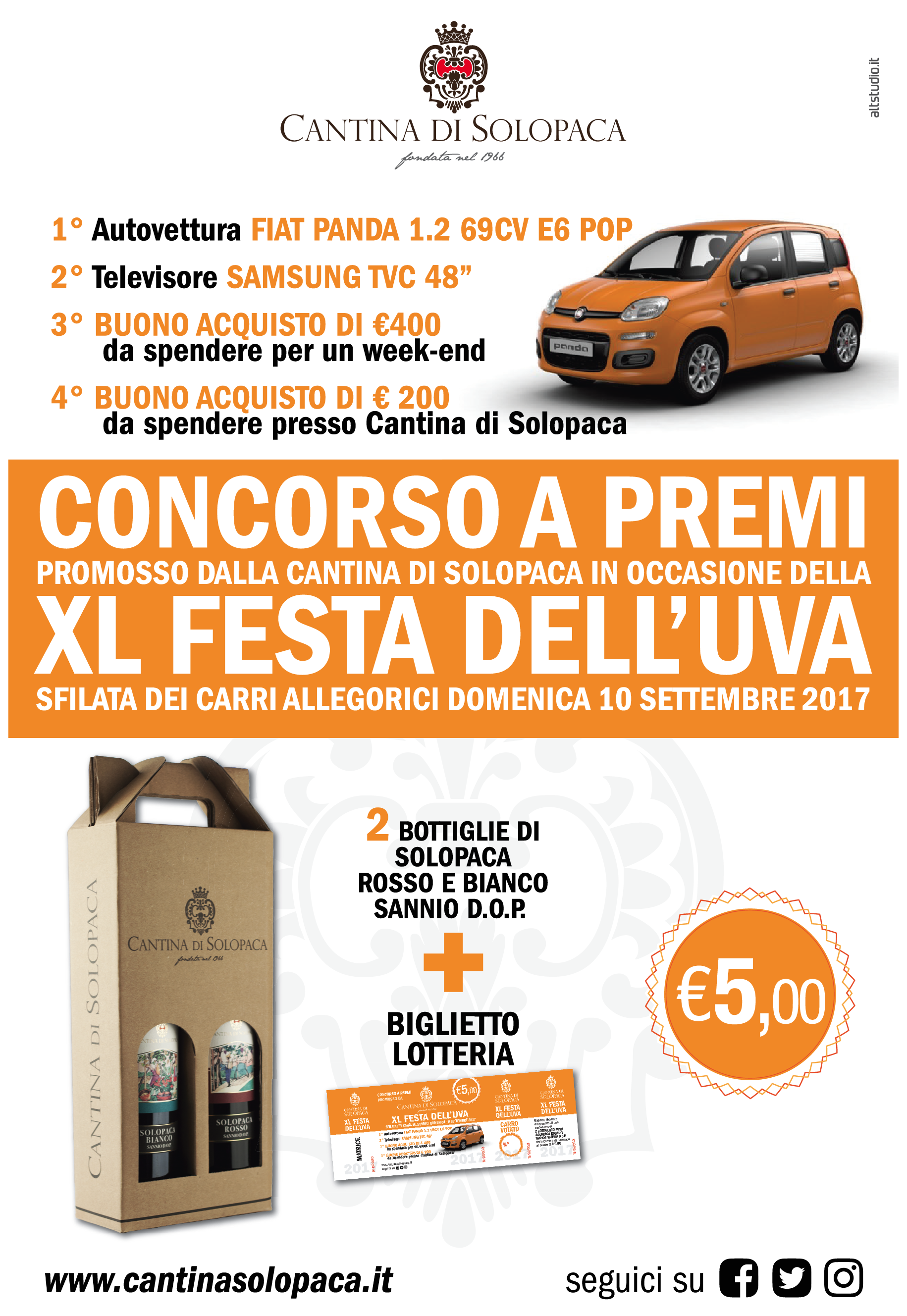 Lotteria XL Festa dell'Uva