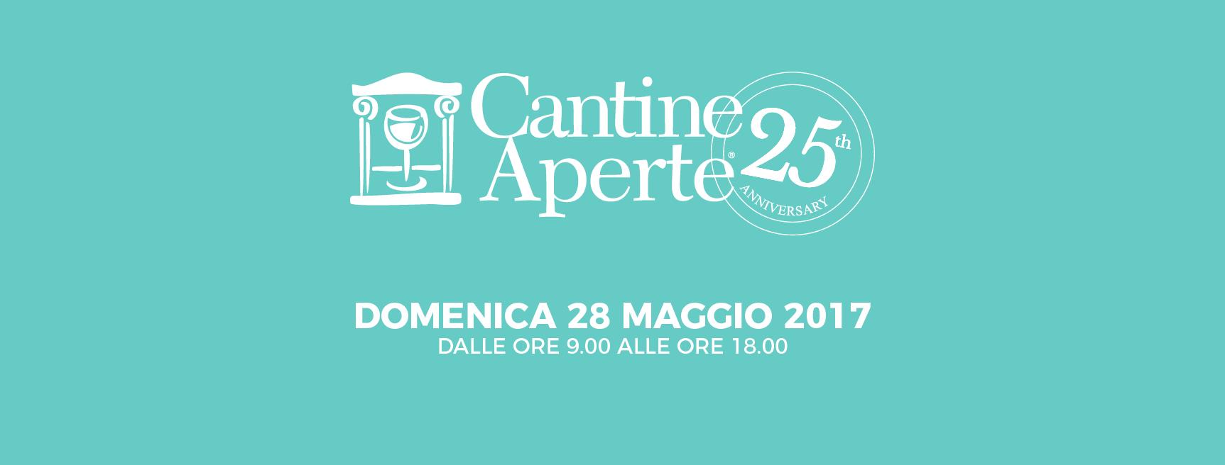 Cantine Aperte Domenica 28 Maggio 2017