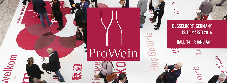 ProWein 2016 dal 13 al 15 Marzo 2016