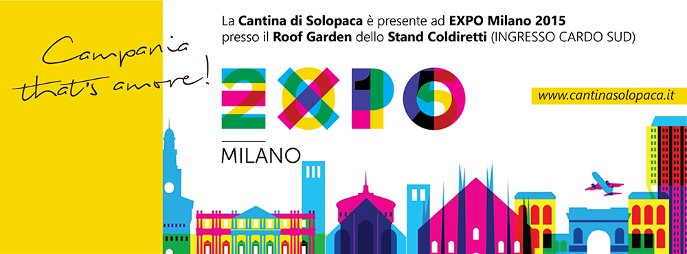 Cantina di Solopaca ad EXPO Milano 2015