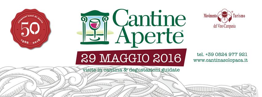 Cantine Aperte Domenica 29 Maggio 2016