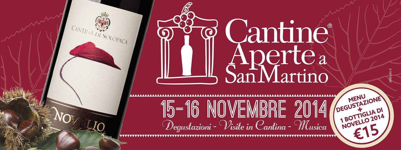 Cantine Aperte a San Martino 15 e 16 Novembre 2014