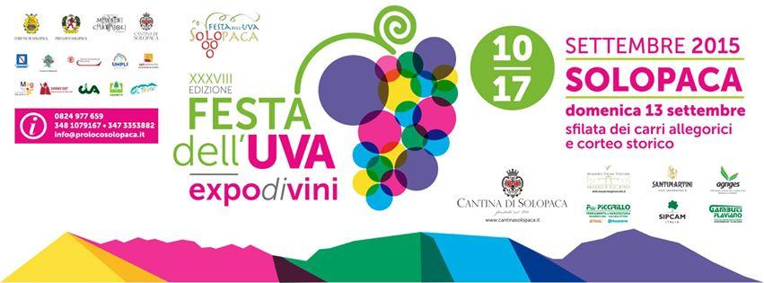 XXXVIII Festa dell'Uva 10-17 Settembre 2015