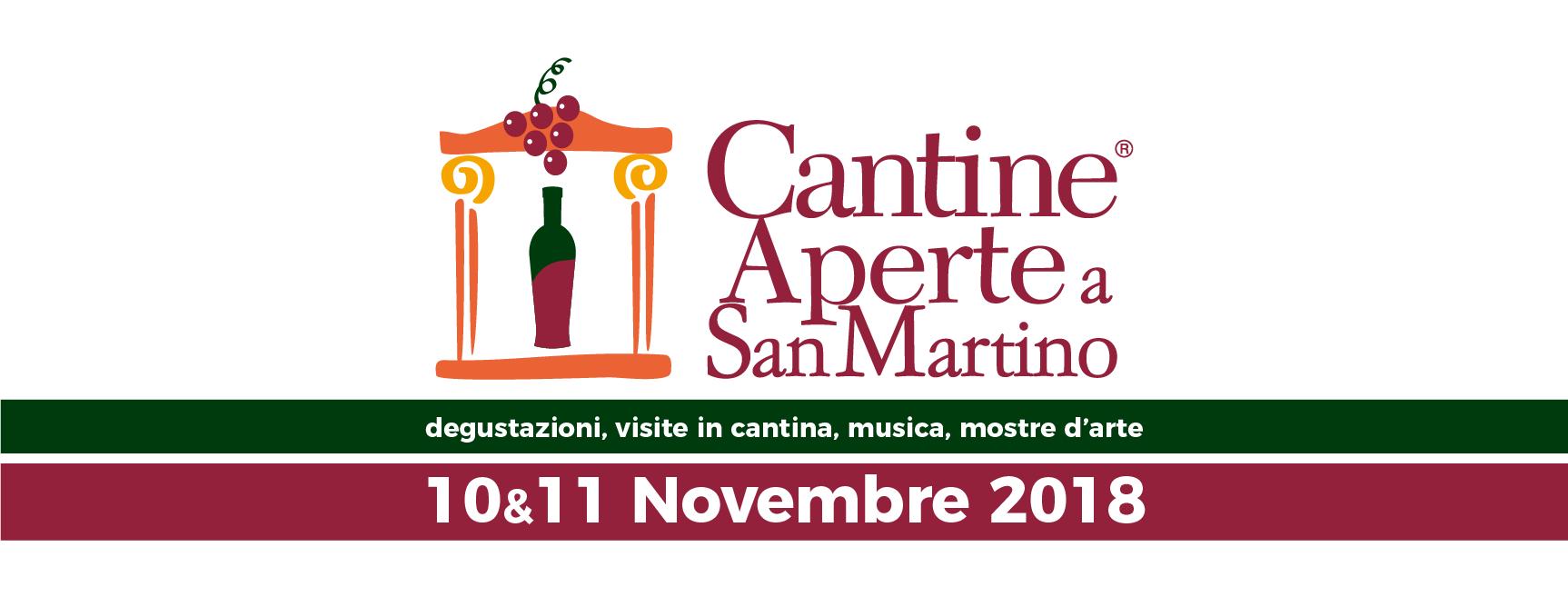 Cantine Aperte a San Martino 10 e 11 Novembre 2018