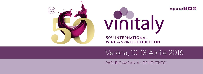 Vinitaly 2016 dal 10 al 13 Aprile 2016