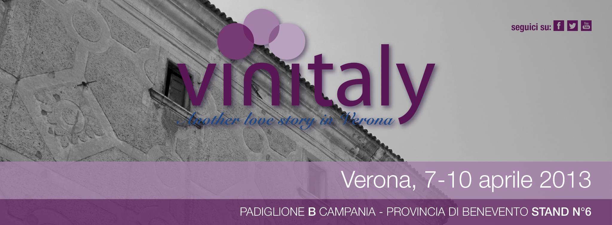 Vinitaly 2013 dal 7 al 10 Aprile 2013